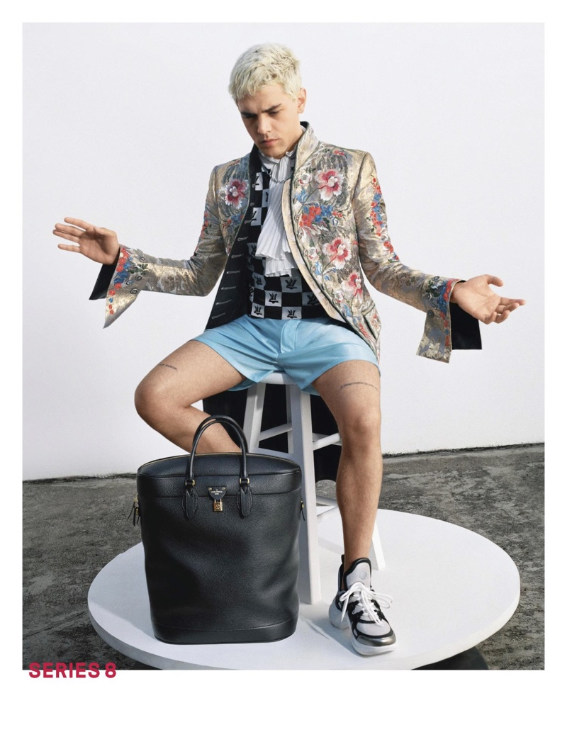 Xavier Dolan fronts Louis Vuitton's spring-summer 2018 campaign