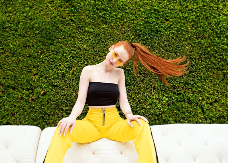 Madelaine Petsch collaborates with Privé Revaux on new sunglasses