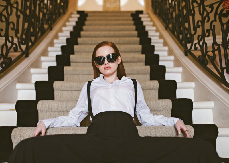 Madelaine Petsch x Privé Revaux Street sunglasses