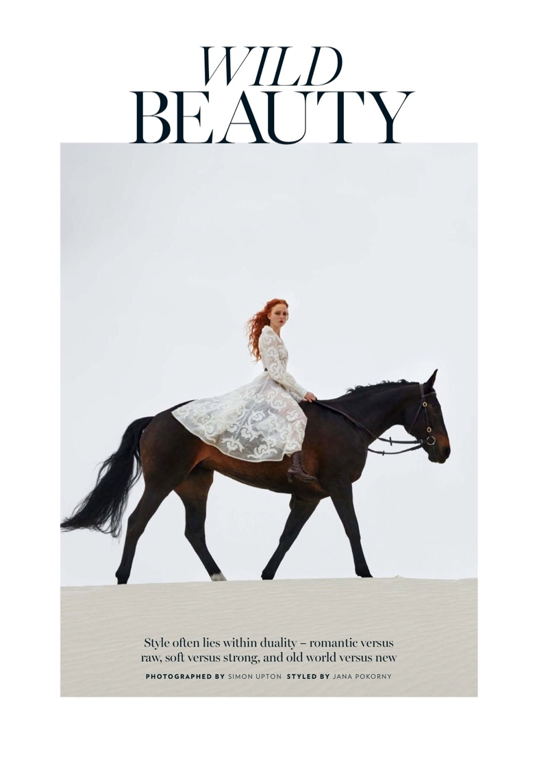 Madison Stubbington Is A 'Wild Beauty' in Marie Claire Australia