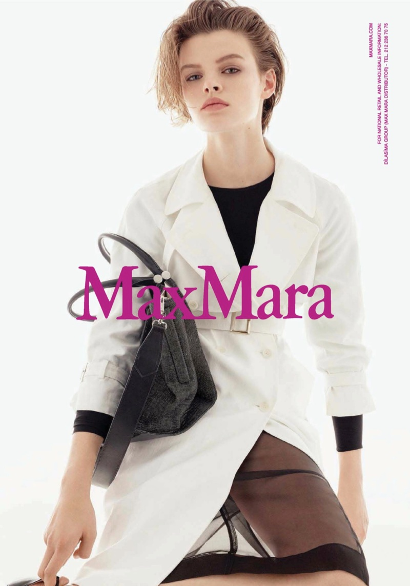 Steven Meisel photographs Max Mara's spring-summer 2018 campaign
