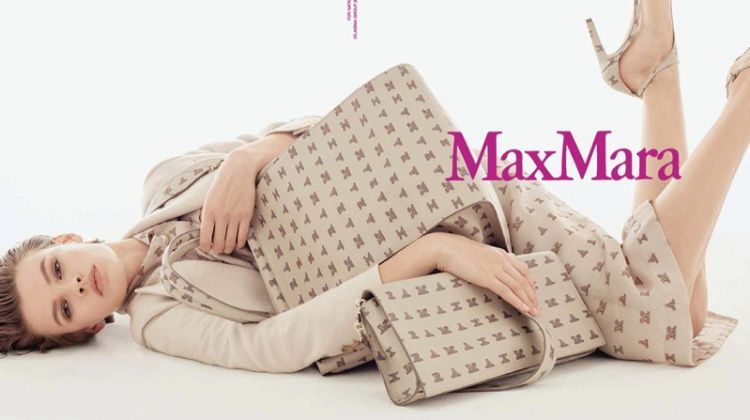 An image from Max Mara's spring 2018 advertising campaign