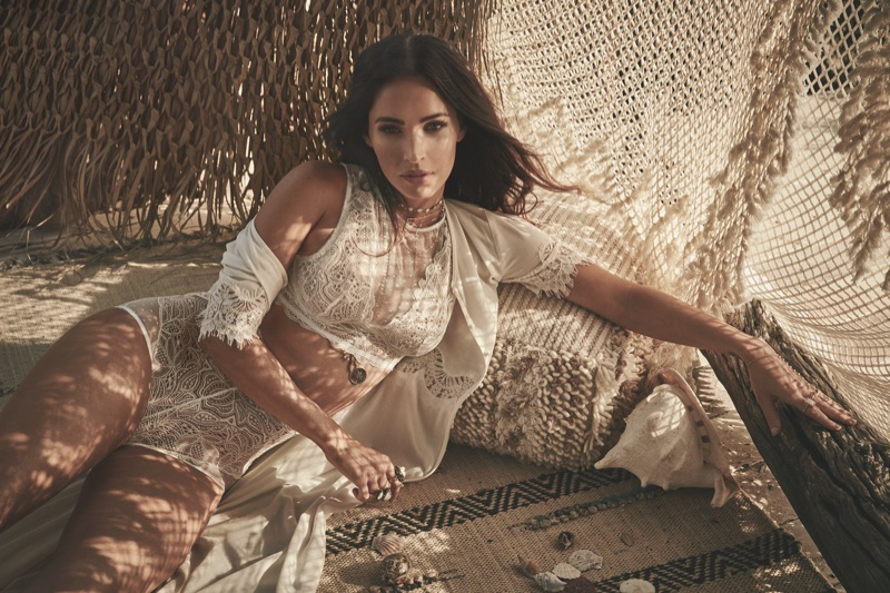 Megan Fox Smolders in Frederick's of Hollywood's Spring 2018 Campaign