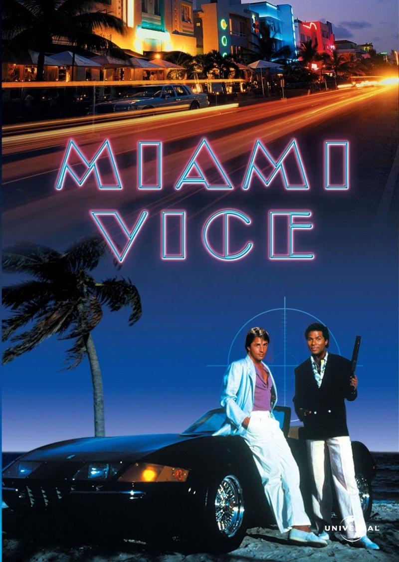 Don Johnson and Philip Michael Thomas in Miami Vice