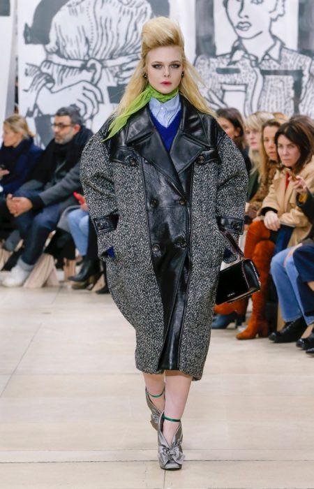 309e2cf087b1 Miu Miu Brings Bad Girl Attitude to Fall 2018. Closing out Paris Fashion  Week ...
