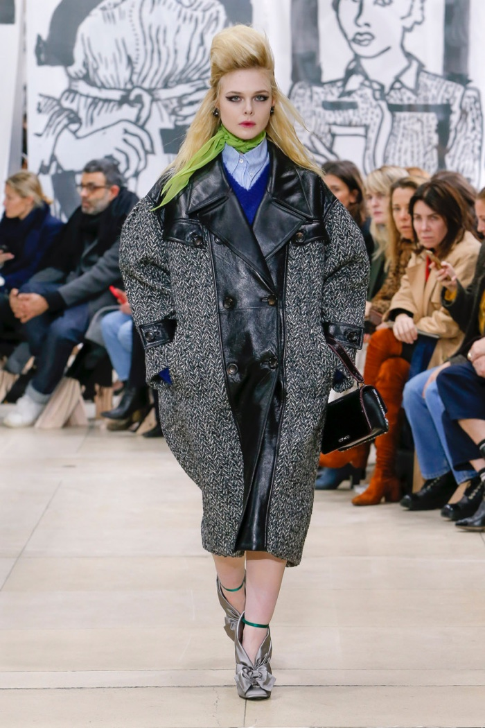 Miu miu fall winter 2018 runway Fashion solitaire winter style