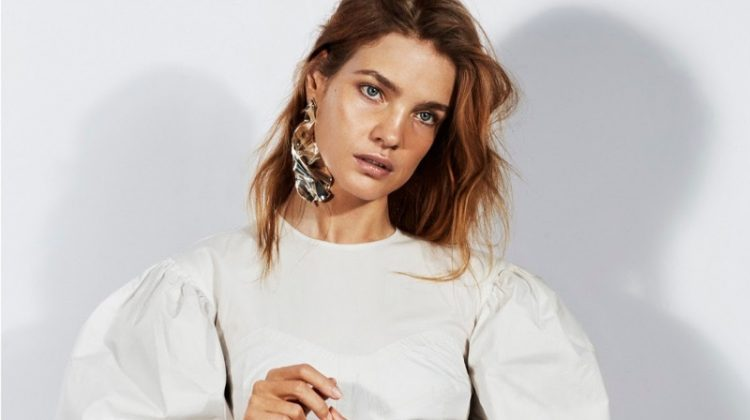 Natalia Vodianova Poses in Sleek & Minimal Styles for PORTER Edit