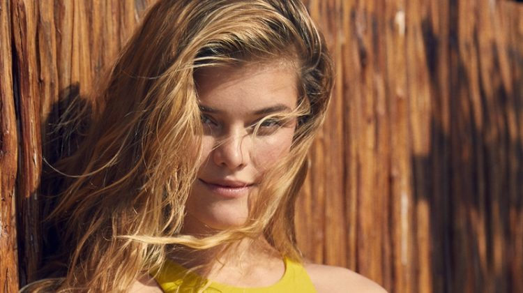 Nina Agdal fronts aerie Swimsuit catalog