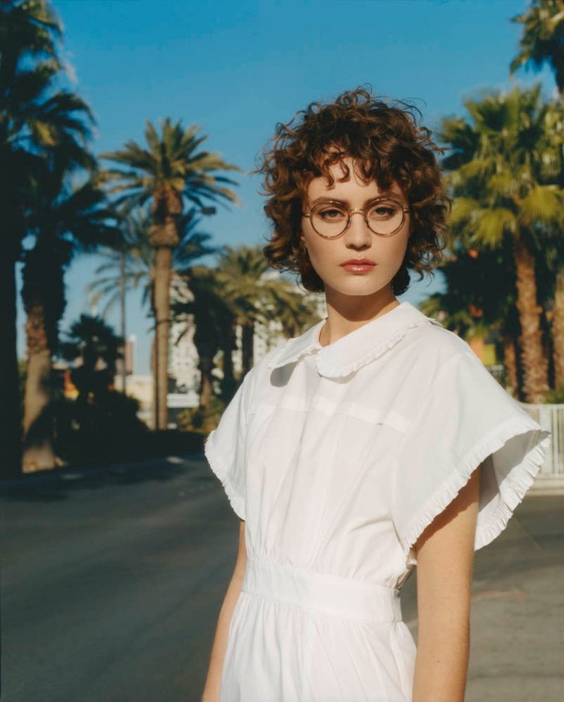Rose Valentine fronts Paul & Joe's spring-summer 2018 campaign