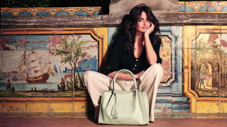 Penelope Cruz Poses in Italy for Carpisa's Spring 2018 Campaign