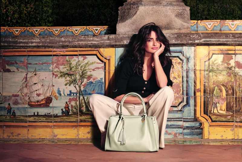 Penelope Cruz Poses In Italy For Carpisa`s Spring 2018 Campaign