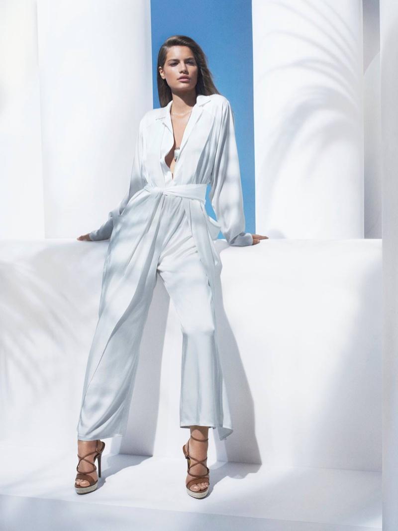Faretta stars in Ralph Lauren's spring-summer 2018 campaign