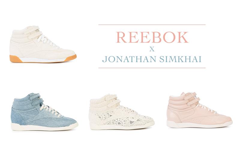 Reebok x Jonathan Simkhai sneakers