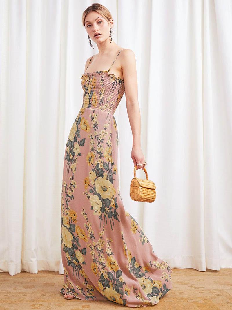 Reformation Ceylon Dress in Antoinette $288