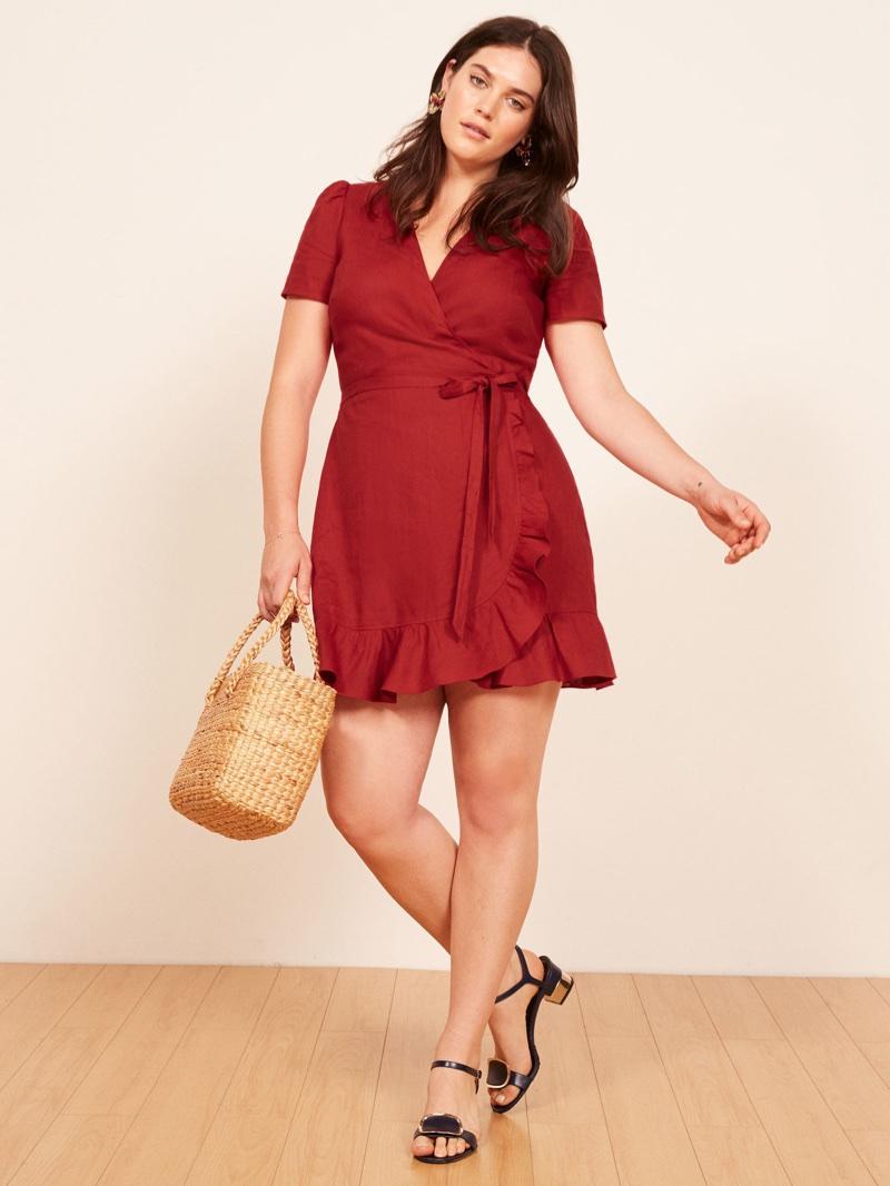 Reformation Plus Amp Curvy Size Dresses Collection Shop
