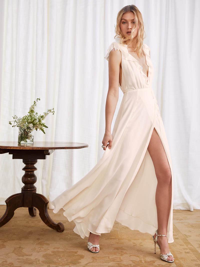1916ff8974e Bridal Season  Reformation Launches Spring  18 Wedding Collection