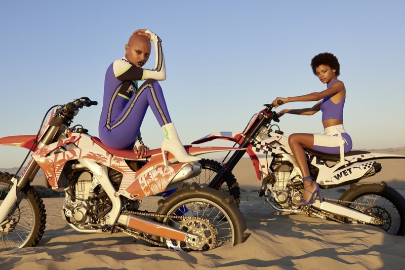 Fenty PUMA unveils spring-summer 2018 campaign with Slick Woods and Theresa Hayes