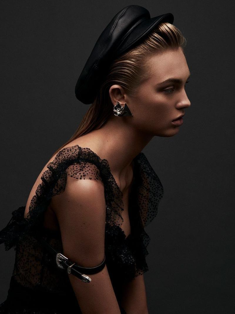 Romee Strijd Sexy Fashion Editorial Harper S Bazaar