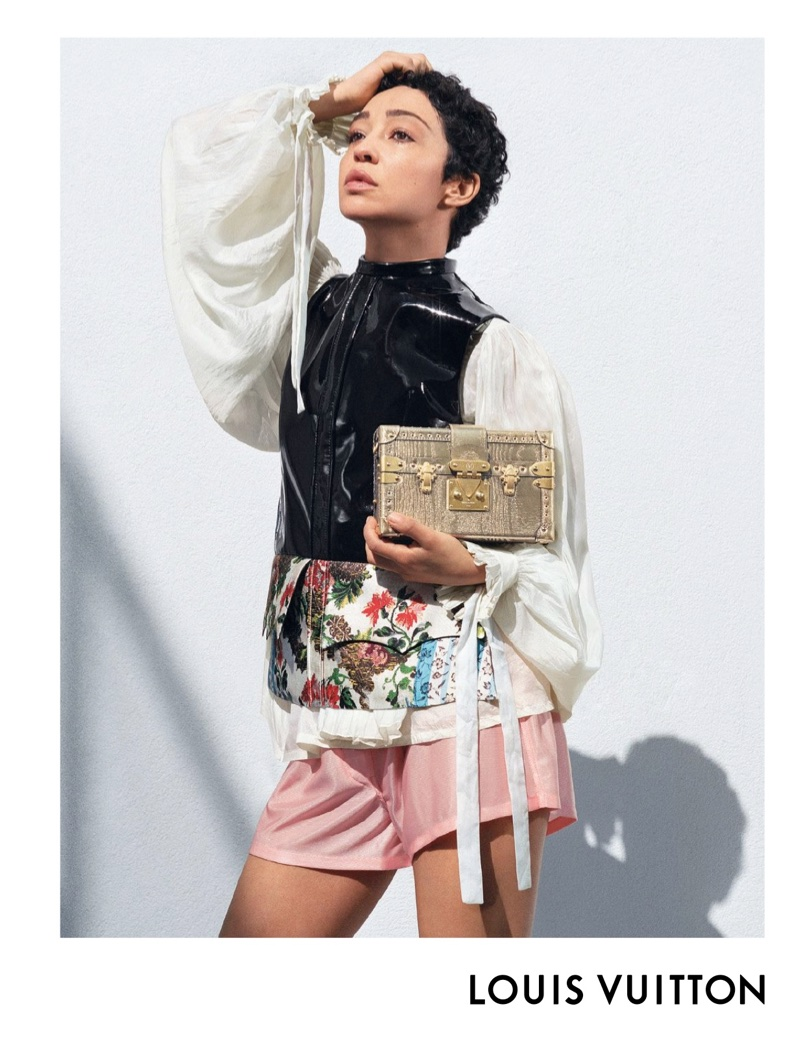 Ruth Negga stars in Louis Vuitton's spring-summer 2018 campaign