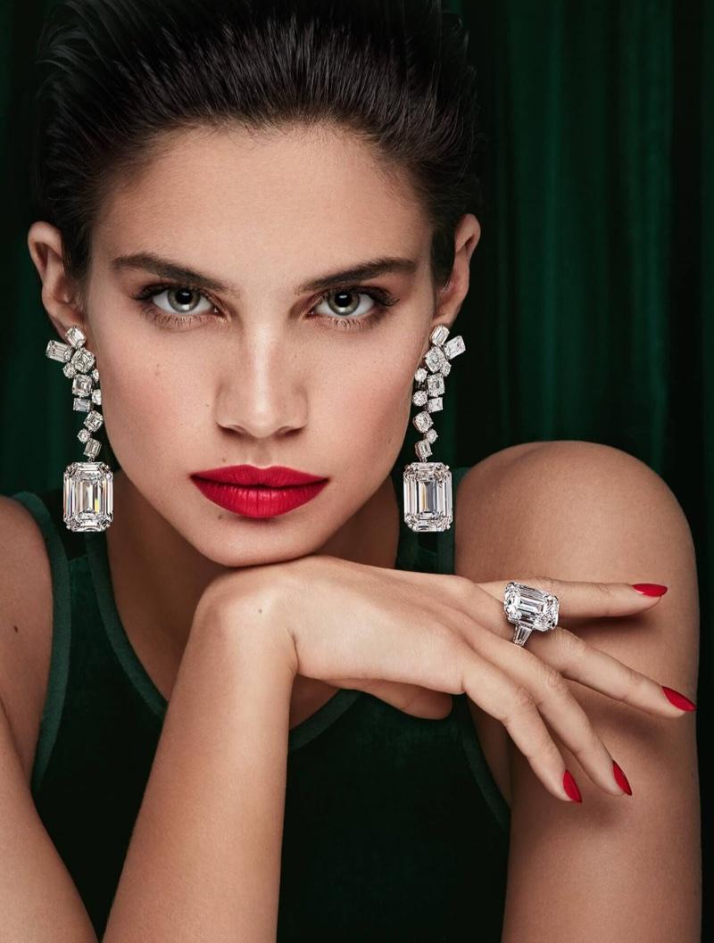 Sara Sampaio stars in Graff Diamonds campaign