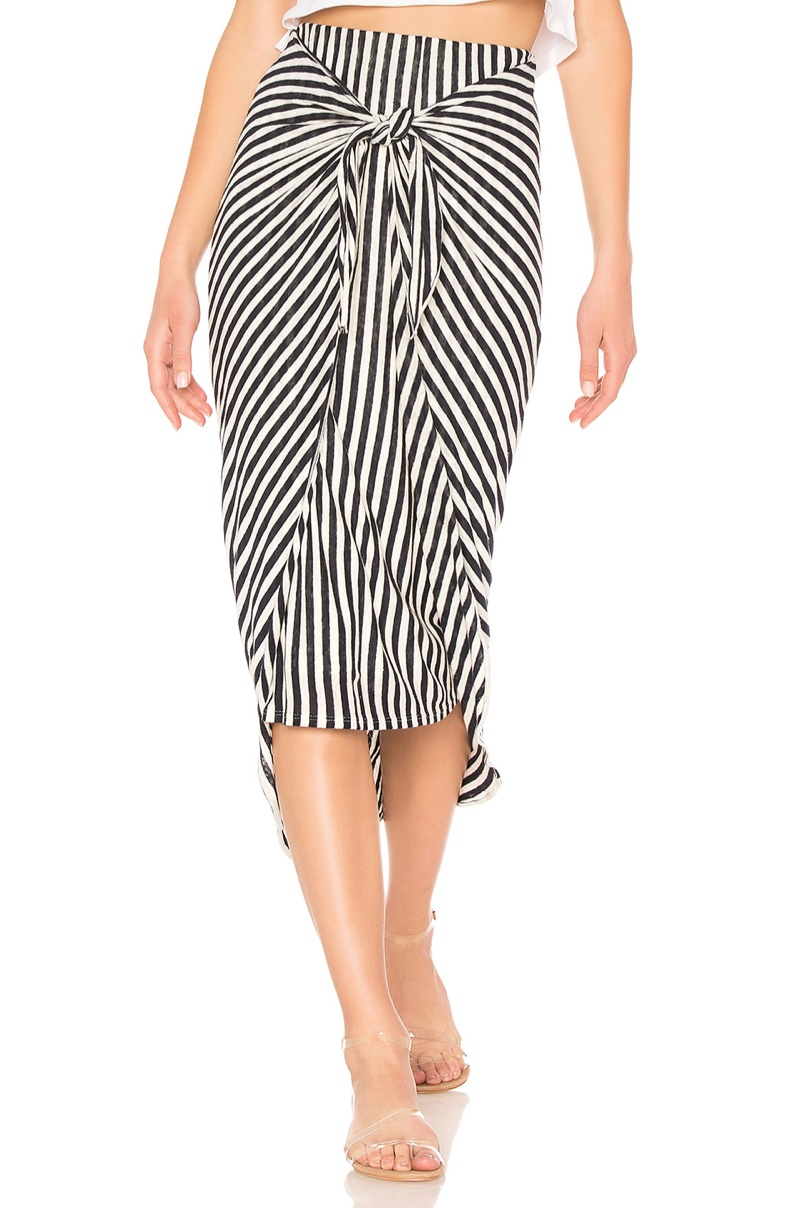 Splendid x Margherita Missoni Isola Sarong Skirt $128