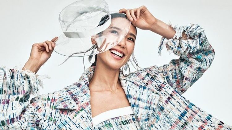 Tao Okamoto Looks Chic in Chanel for Harper's Bazaar Japan