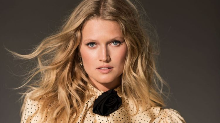 Toni Garrn Impresses in Chic Fashions for Editorialist