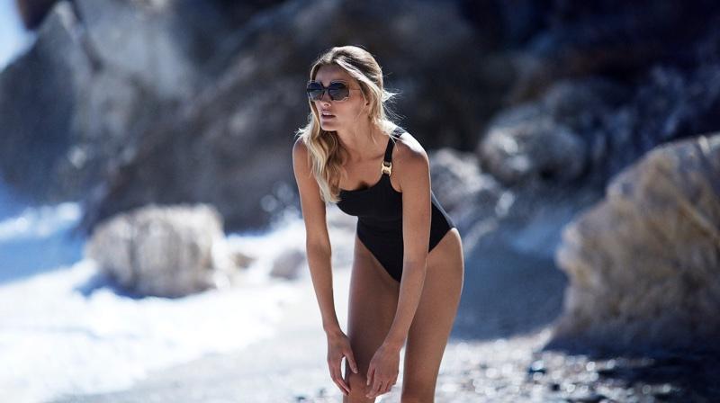 Tory Burch enlists Edita Vilkeviciute for resort 2018 campaign