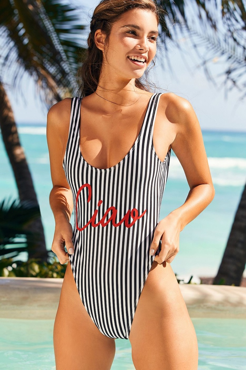 Private Party x UO Ciao One-Piece Swimsuit