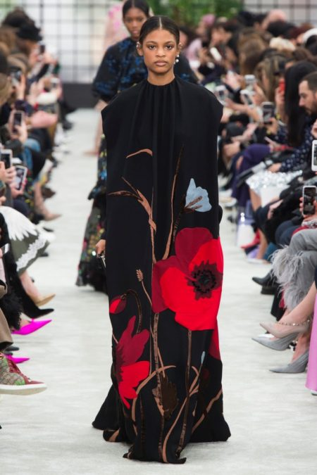 Valentino is a Floral Feast for Fall 2018