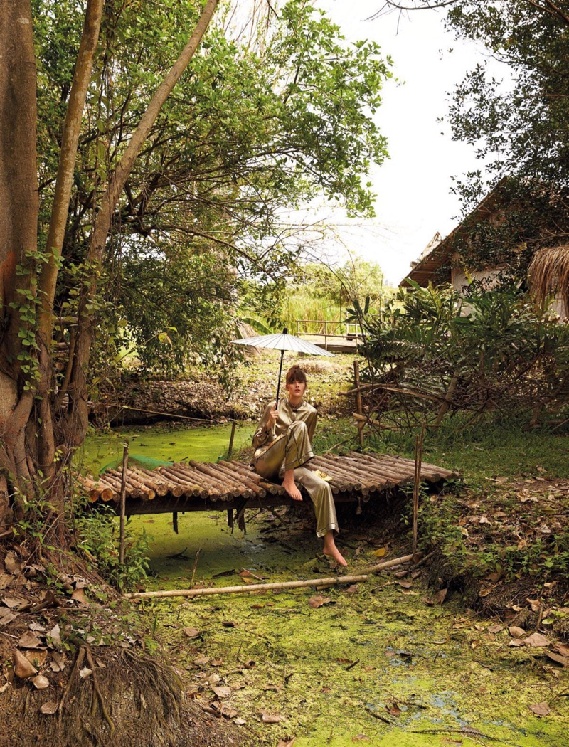 Vanessa Moody is a Nature Girl for Vogue Thailand