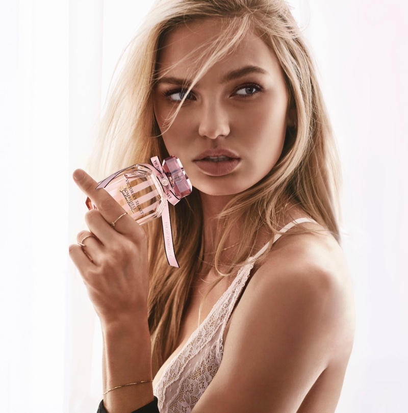 Romee Strijd stars in Victoria's Secret Bombshell Seduction fragrance campaign