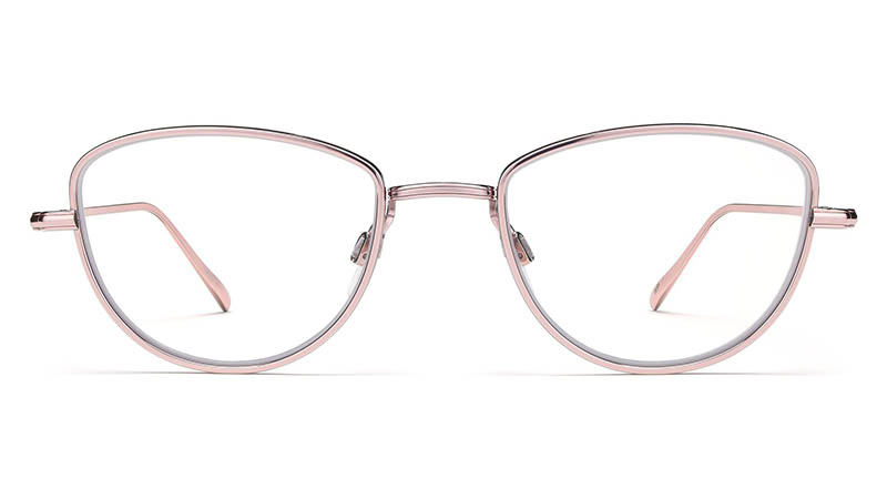 Warby Parker Eleanor Glasses in Lilac Silver $195