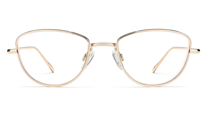 Warby Parker Eleanor Glasses in Polished Gold $195