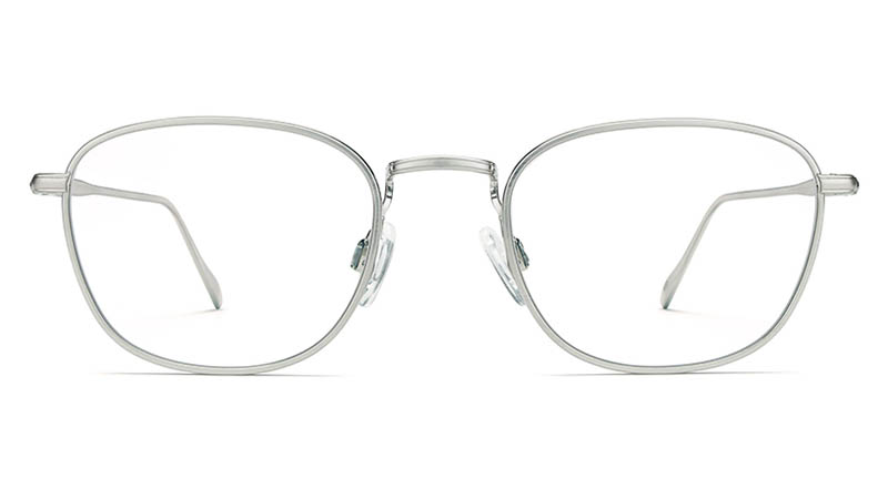 Warby Parker Maxwell Glasses in Antique Silver $195