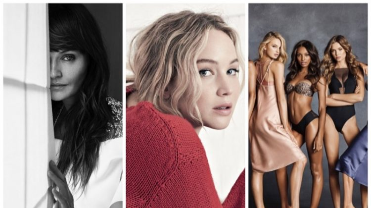 Week in Review | Jennifer Lawrence for Dior, Victoria's Secret Ads, Helena Christensen's New Cover  + More