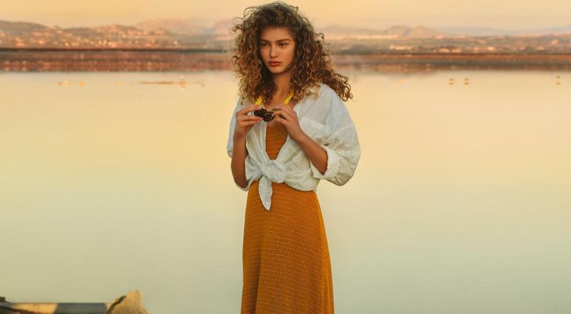 Dorit Revelis stars in Zara's spring 2018 Salt Lake lookbook