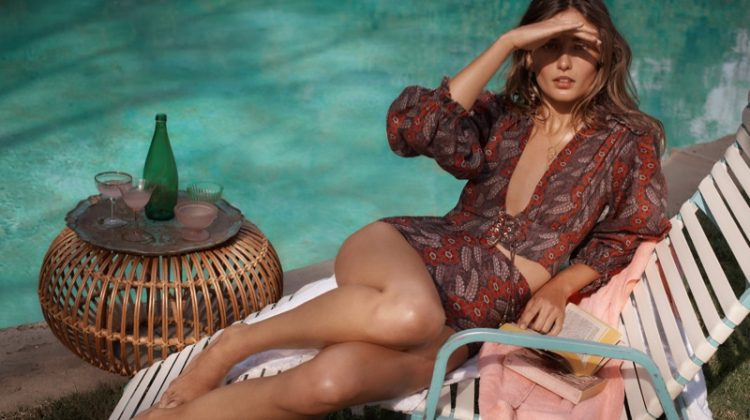 Benny Horne photographs Zimmermann Swim Summer 2018 campaign