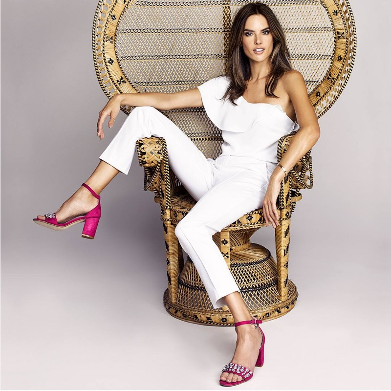 Alessandra Ambrosio stars in XTI Shoes' spring-summer 2018 campaign