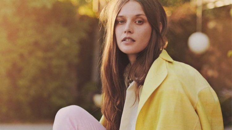 Angel Rutledge Poses in Pastel Styles for ELLE Italy