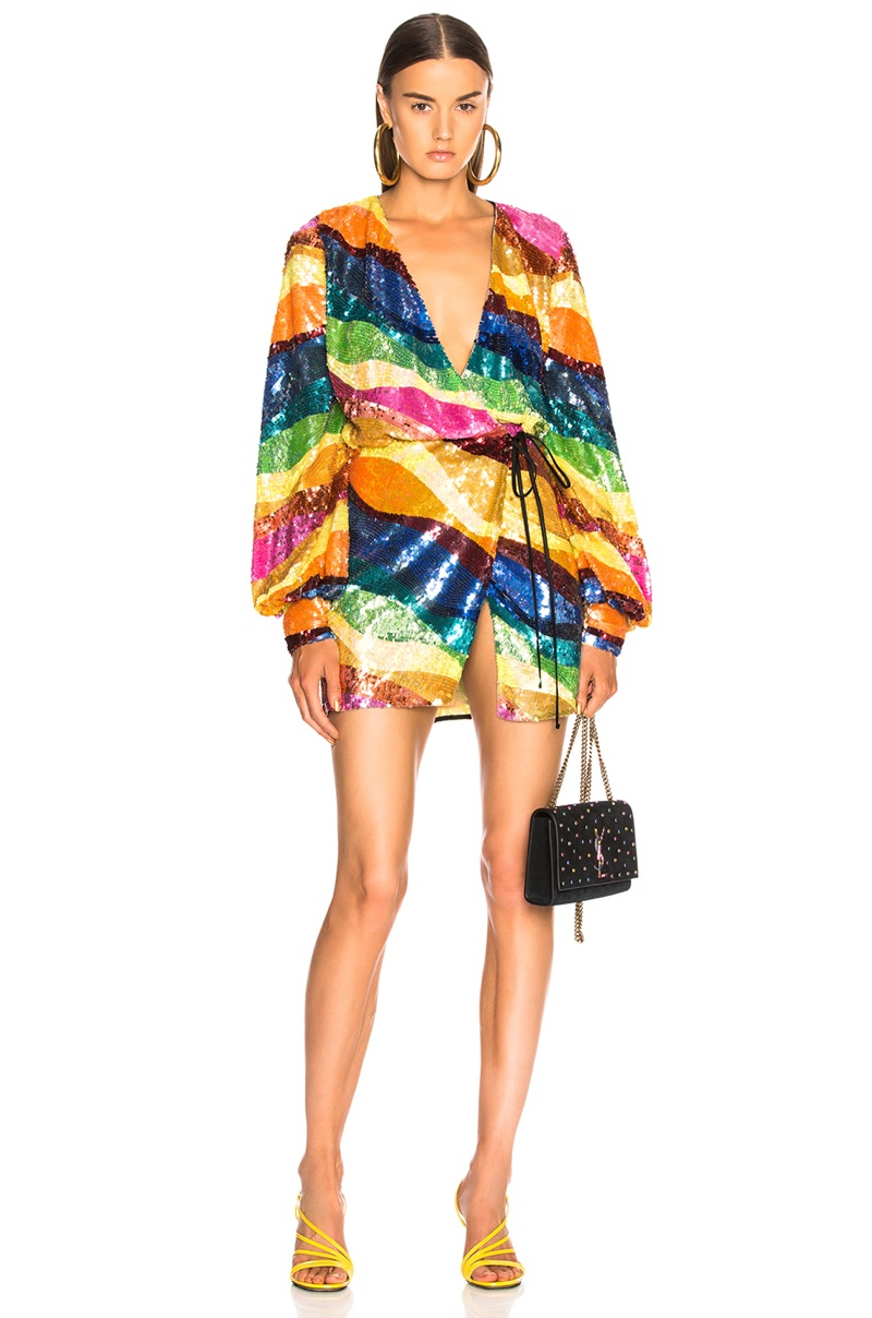 Attico Sequin Dress $2,723