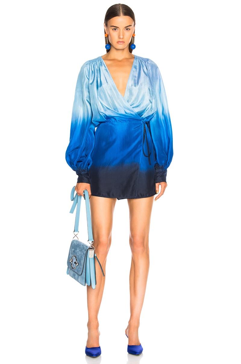 Attico for FWRD Degrade Robe Dress $1,284