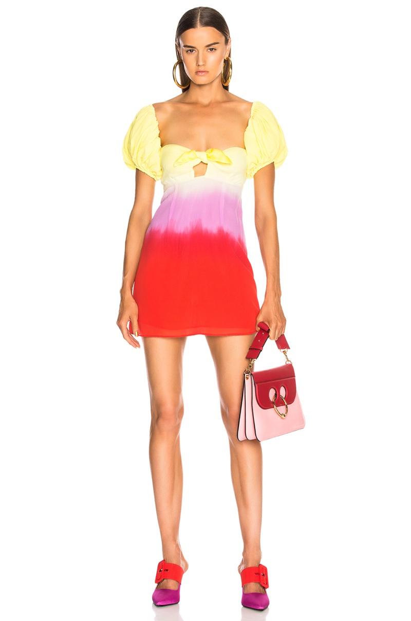 Attico for FWRD Degrade Short Dress $1,350