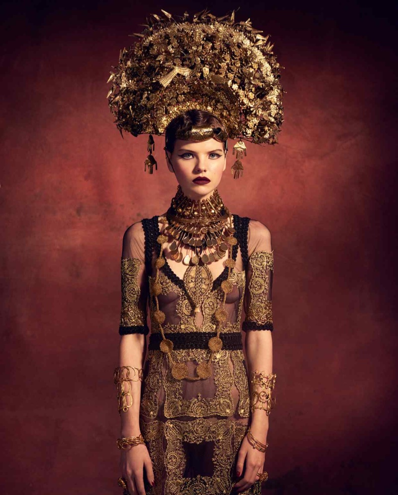 Maddy Rich & Minnie Wastie Model Avant-Garde Styles for How to Spend It