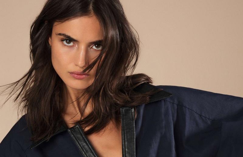 Blanca Padilla Models Bronzed Makeup Looks for ELLE France