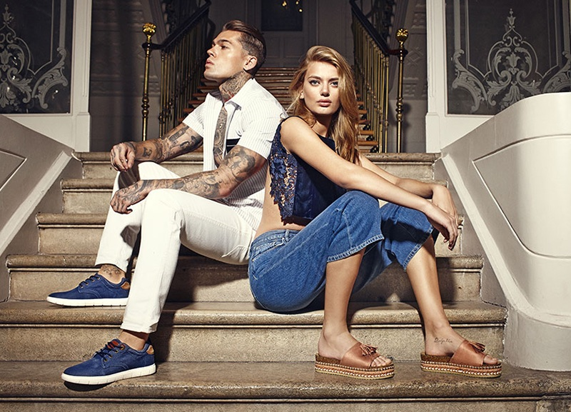 Refresh Shoes taps Stephen James and Bregje Heinen for spring-summer 2018 campaign