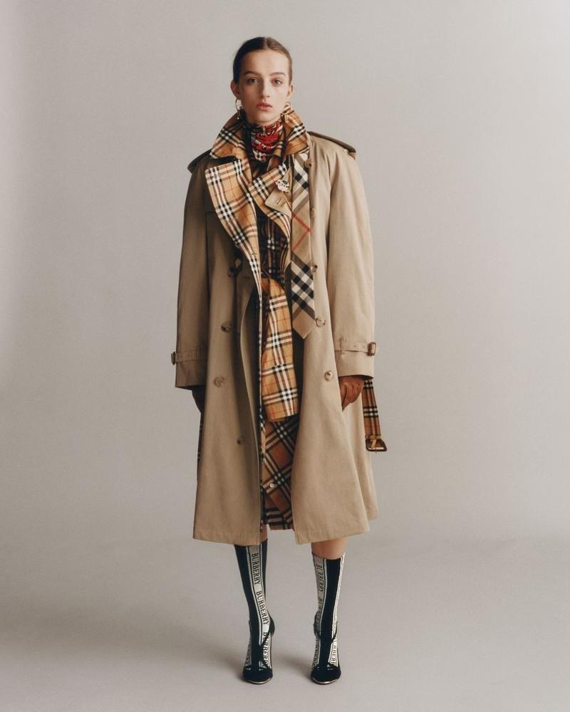 Burberry The Trench Reimagined 2018 Ad Campaign