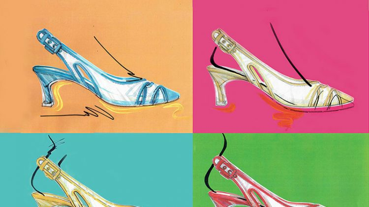 Shoe Gazing: Casadei Takes On the Kitten Heel for 60th Anniversary Collection