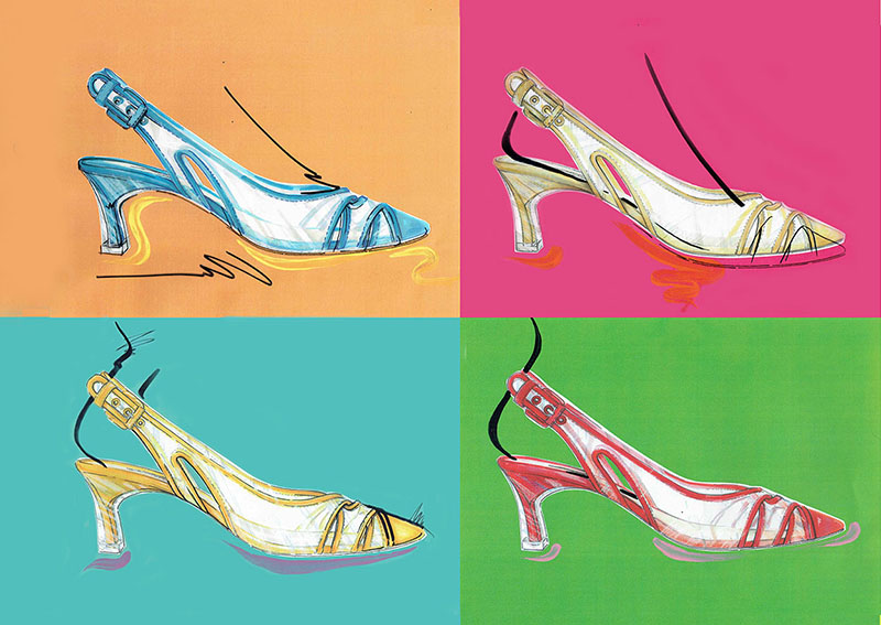 Casadei 60th anniversary shoe collection