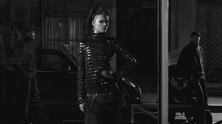 Anna Ewers Exudes Elegance in Chanel's Pre-Fall 2018 Campaign
